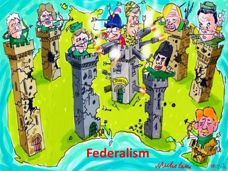 Federalism. Definition It is a system of govt. in which power is divided between a central authority and various constituent units of the country.
