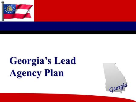 Georgia Georgia's Lead Agency Plan Georgia 2 KVC Behavioral Healthcare The lead agency in the North East Region of Kansas and Metro Kansas City, Kansas.