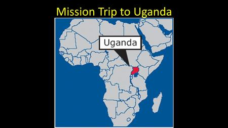 Mission Trip to Uganda. Buvuma Island World Gospel Mission Purpose: Serving God in holiness and righteousness, World Gospel Mission connects in ministry.