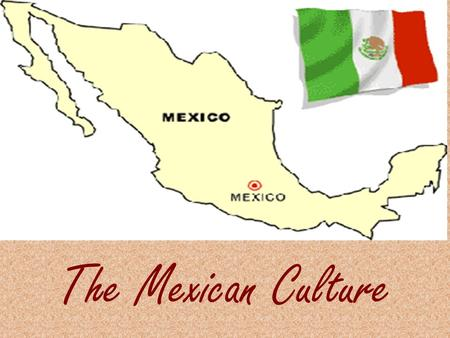 The Mexican Culture. Unit Summary The students will learn about the different traditions of the Mexican culture in Spanish. They will be able to identify.