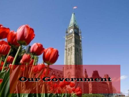 Our Government. The Basics Canada has 3 Levels of Government FEDERAL – based in Ottawa PROVINCIAL/ TERRITORIAL – based in the capital city of each province/territory.