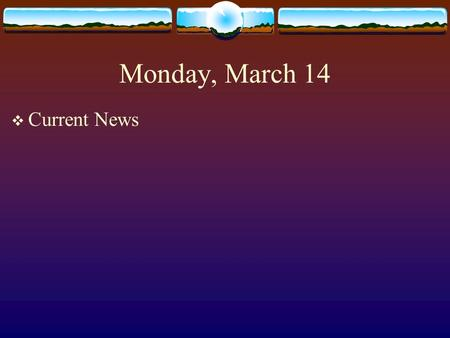 Monday, March 14  Current News. Chapter 6 Market Research Estimating Market Potential & Forecasting Sales.
