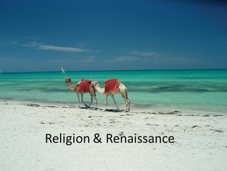 Religion & Renaissance. Babylonia influenced Greek, Egyptian, Jewish, and Arab thought.