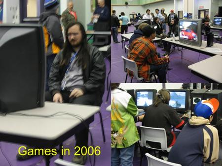 Games in 2006. Games (and play) and science communication What we can learn from games and how we might even use games to communicate science.