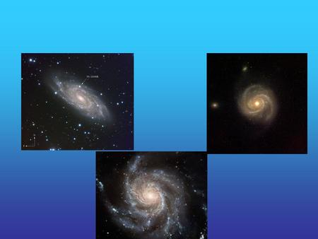 Quiz #6 Most stars form in the spiral arms of galaxies Stars form in clusters, with all types of stars forming. O,B,A,F,G,K,M Spiral arms barely move,