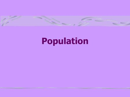 Population Population Growth In the last half of the twentieth century the world's population has increased dramatically 1800 – 1 billion 1930 – 2 billion.