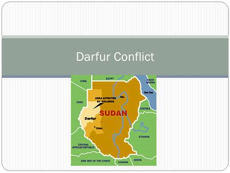 Darfur Conflict. Perpetrators When: April 25,2003 – February 24, 2010* *Officially signed CPA in 2006 however hostilities continue today Who: Sudanese.