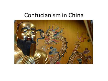 Confucianism in China. Shanghai Confucian Temple.