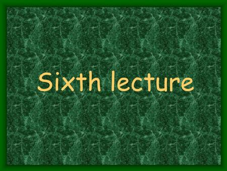 Sixth lecture. Trophic relationships Trophic level: how an organism gets its nutrition (energy). –All organisms at a particular trophic level are the.