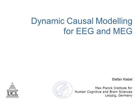 Dynamic Causal Modelling for EEG and MEG