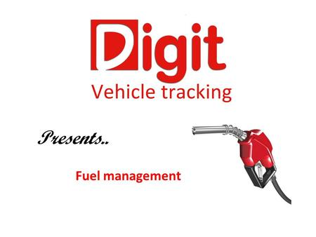 Presents.. Fuel management. Fuel usage A light motor vehicle uses around 10 litres per 100km. (10km to the litre) Heavy Goods vehicles can use up to 50.