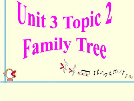 Unit 3 Topic 2 Family Tree.