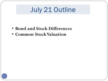 bond and stock valuation peachtree securities inc b Morningstar style box for stocks and stock funds, it classifies securities according to the scores for a stock's value and growth characteristics.