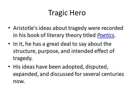 willy is a tragic figure according to aristotles concept of tragedy essay Death of a salesman-is willy a modern tragic according to aristotle a tragic hero must of a salesman is a modern tragedy willy loman is a tragic figure.