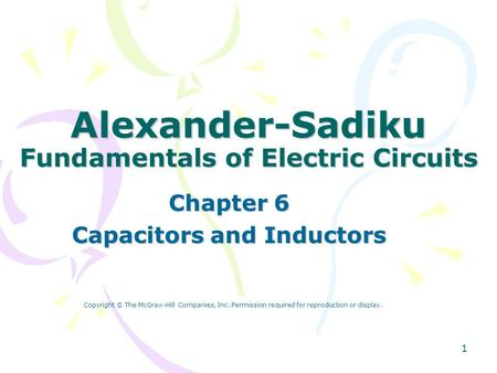 Alexander-Sadiku Fundamentals of Electric Circuits