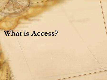 "What is Access?. ""Copyright and Terms of Service Copyright © Texas Education Agency. The materials found on this website are copyrighted © and trademarked."