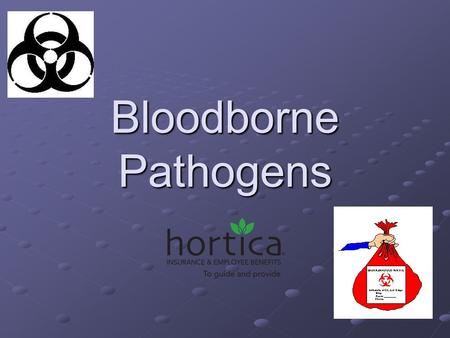 Bloodborne Pathogens. The purpose of this standard is to eliminate or minimize occupational exposure to bloodborne pathogens in accordance with OSHA standard.