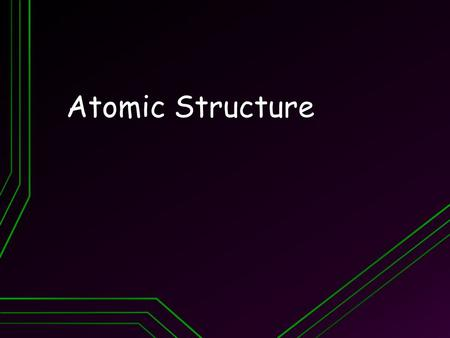 Atomic Structure. Objectives Explain Dalton's atomic theory Explain Dalton's atomic theory Be able to state the charge, mass, & location of each part.