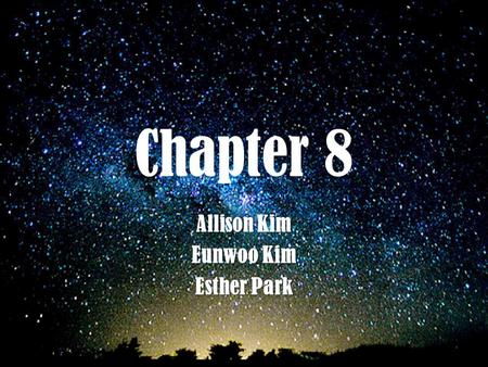 Chapter 8 Allison Kim Eunwoo Kim Esther Park. Lewis Structure shows how valence electrons are arranged among the atoms in the molecules Only the valence.