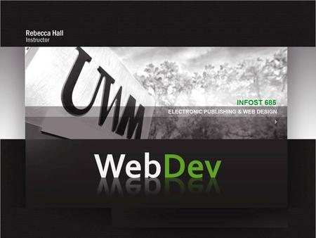 Web Development Process The Site Development Process  Site Construction is one of the last steps.