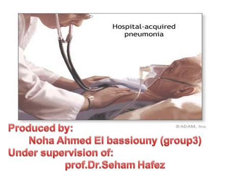 Hospital Acquired Pneumonia(HAP): is defined as a pneumonia which occurs after 48 hours of admission to hospital. Hospital Acquired Pneumonia(HAP): is.