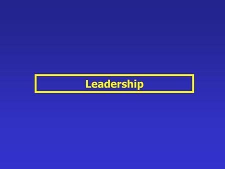 Leadership. After reading this chapter, you should be able to: 1 Differentiate between leadership and management. 2 Describe how leaders are able to influence.