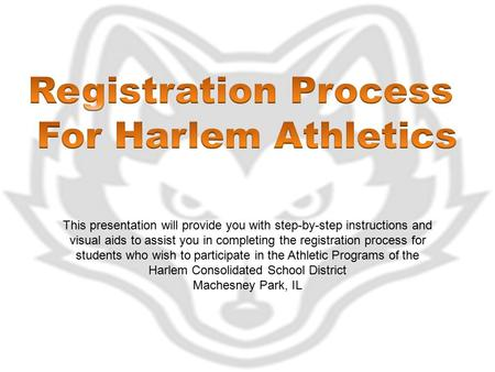 This presentation will provide you with step-by-step instructions and visual aids to assist you in completing the registration process for students who.
