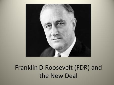 franklin roosevelt essay A photographic tour of the life and times of franklin roosevelt.