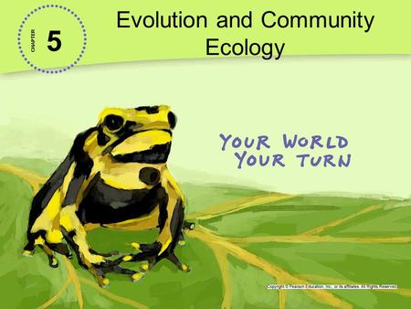 5 Evolution and Community Ecology CHAPTER. 5-4 Community Stability A 2010 report on invasive species suggests that they cost the U.S. $120 billion a year.