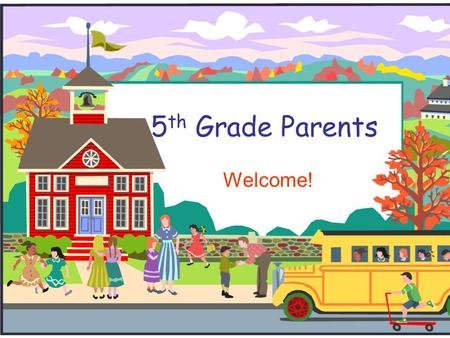 5 th Grade Parents Welcome!. Welcome to 5th Grade!  Dr. Brown – teaches Science and Social Studies.  Mrs. McMillian– teaches Math.  Mrs. Savoie – teaches.