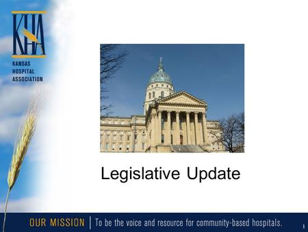 1 Legislative Update. 2 National Health Reform Update Senate HELP Bill –Detail missing Senate Finance –Three options papers set the stage –OMB scores.