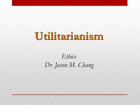 essays on consequentialism