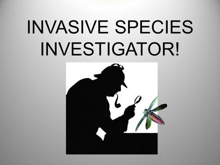 INVASIVE SPECIES INVESTIGATOR!. WHAT IS A NATIVE SPECIES? Every kind of animal, plant, or micro- organism has a home where it has existed for thousands.