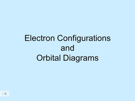 Electron Configurations and Orbital Diagrams Maximum Number of Electrons In Each Sublevel Maximum Number of Electrons In Each Sublevel Maximum Number.