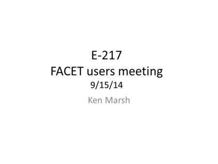 E-217 FACET users meeting 9/15/14 Ken Marsh. What happens to the experiment when laser fires full power in Lithium? Do we ionize the helium buffer zones?