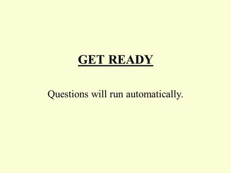 GET READY Questions will run automatically. Set 7 Question 1 Find:- 58.8 – 41.2.