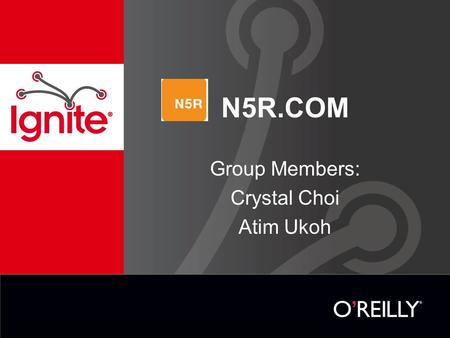 N5R.COM Group Members: Crystal Choi Atim Ukoh. Table of content Introduction Company Operations SWOT analysis Issues Possible Solutions Group's chosen.