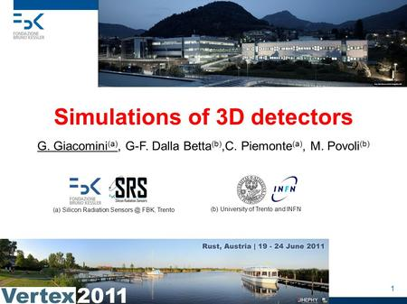 Simulations of 3D detectors