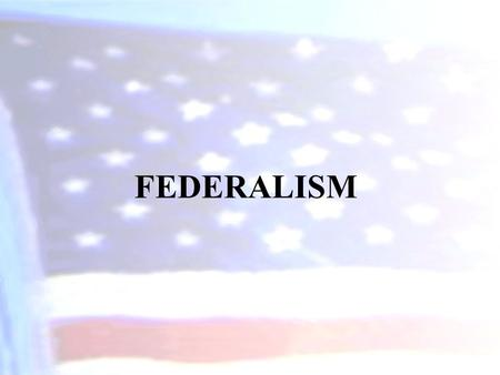 FEDERALISM. Disaster Relief Who's job was it to clean up New Orleans and the rest of the coast after Katrina?