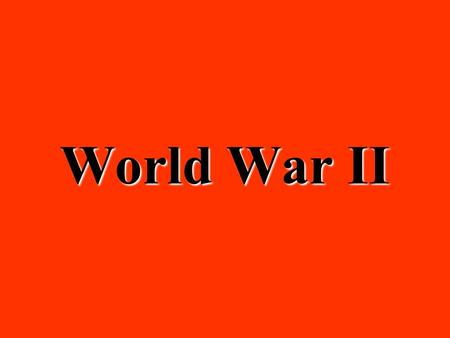 World War II Who was president during World War II? Franklin D. RooseveltFranklin D. Roosevelt.