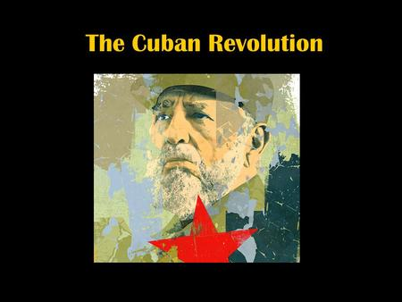 The Cuban Revolution Early Years With Spain The Spanish began setting up permanent settlements on the island of Cuba just shortly after Christopher Columbus.