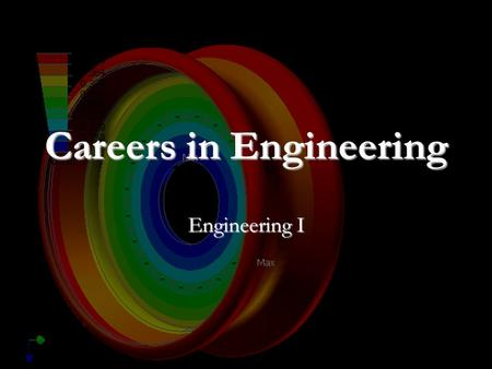 Careers in Engineering Engineering I. Careers in Engineering Engineering defined as: Engineering defined as: The profession which the knowledge of the.