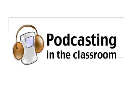 What is a Podcast? Podcasting stands for Portable On Demand Broadcasting. Podcasts were originally audio-only but may now contain still images, video,