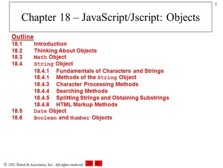 number object in javascript