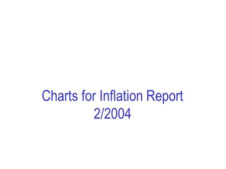 Charts for Inflation Report 2/2004. Chapter 1. Chart 1.1 CPI-ATE 1). Total and by supplier sector 2). 12-month rise. Per cent. Jan 01 – May 04 1) CPI-ATE: