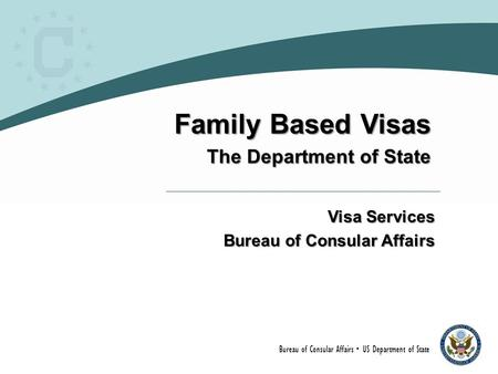 Family Based Visas The Department of State Visa Services