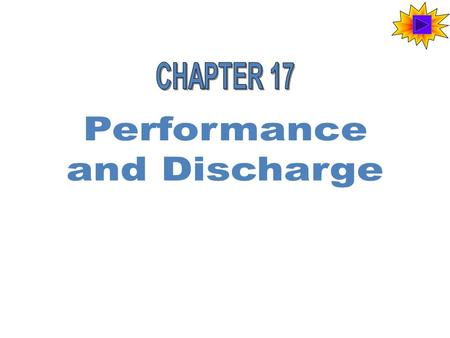 Discharge A party is discharged when she has no more duties under a contract. Most contracts are discharged by full performance. Sometimes the parties.