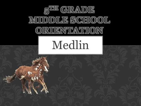 Medlin. Netbook Keep organized Turn in assignments on time Attend tutorials when needed Form bonds with teachers and staff Ask questions for help when.
