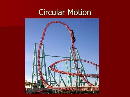 Circular Motion. Rotation and Revolution When a body turns about it's axis is known as a rotation. When a body turns about it's axis is known as a rotation.