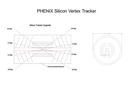PHENIX Silicon Vertex Tracker. Mechanical Requirements Stability requirement, short and long25 µm Low radiation length<0.5% Low CTE High stiffness-to-weight.